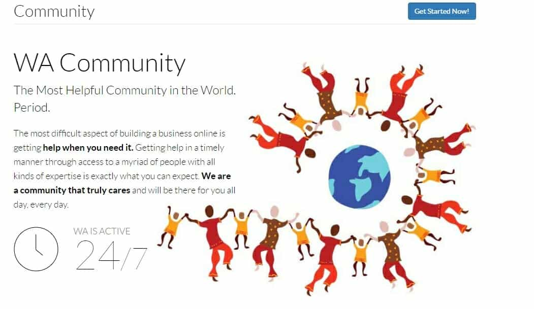 Wealthy Affiliate community has over 1.3 million members