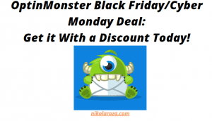 OptinMonster Black Friday and Cyber Monday Deals and Sale
