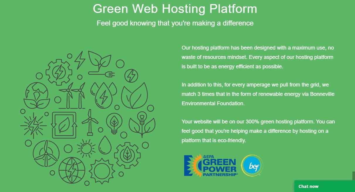 GreenGeeks Hosting work on renewable energy