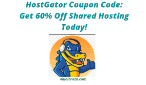 HostGator shared hosting coupon code and discount