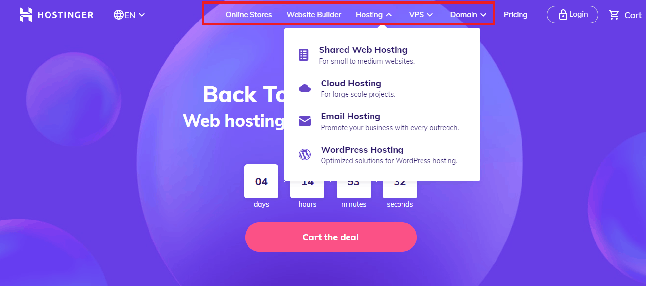 Hostinger let's you pay with bitcoin