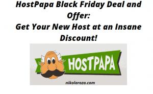 HostPapa Black Friday Deals and Sales