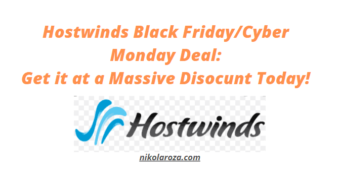 Hostwinds Black Friday Deals and Sale 2021
