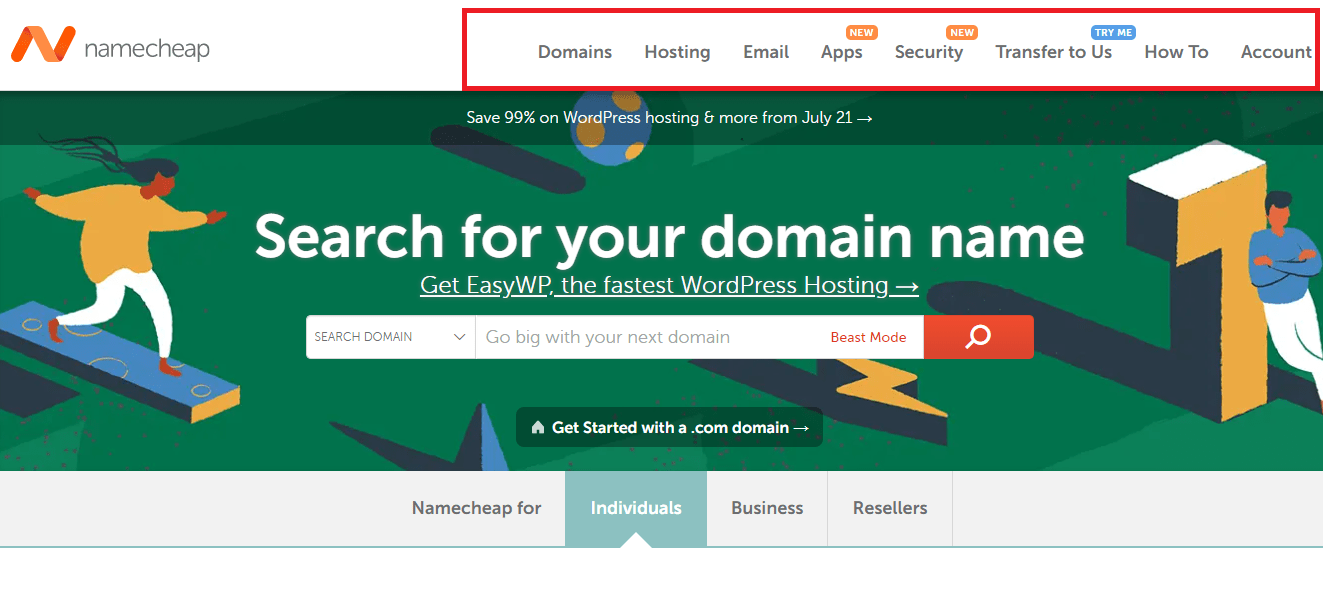 Namecheap lets you pay with bitcoin