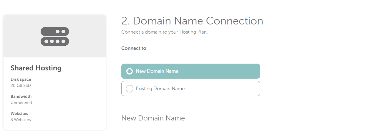 Get new domain with Namecheap
