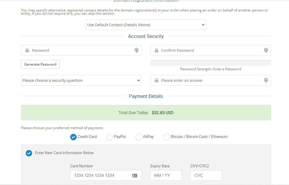 HawkHost buy shared hosting
