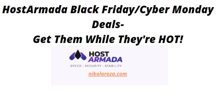 HostArmada black friday/cyber Monday deals and sale 2021