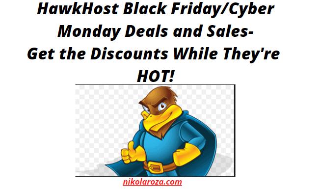 HosrHawk Black Friday Deals and Sales 2021