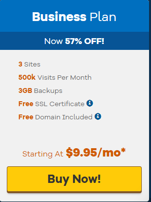 Business plan WordPress specifications