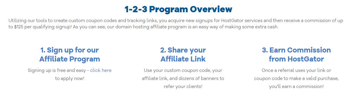 HostGator affiliate program overview