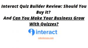 Interact quiz builder review