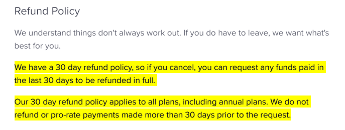 ConvertKit refund guarantee