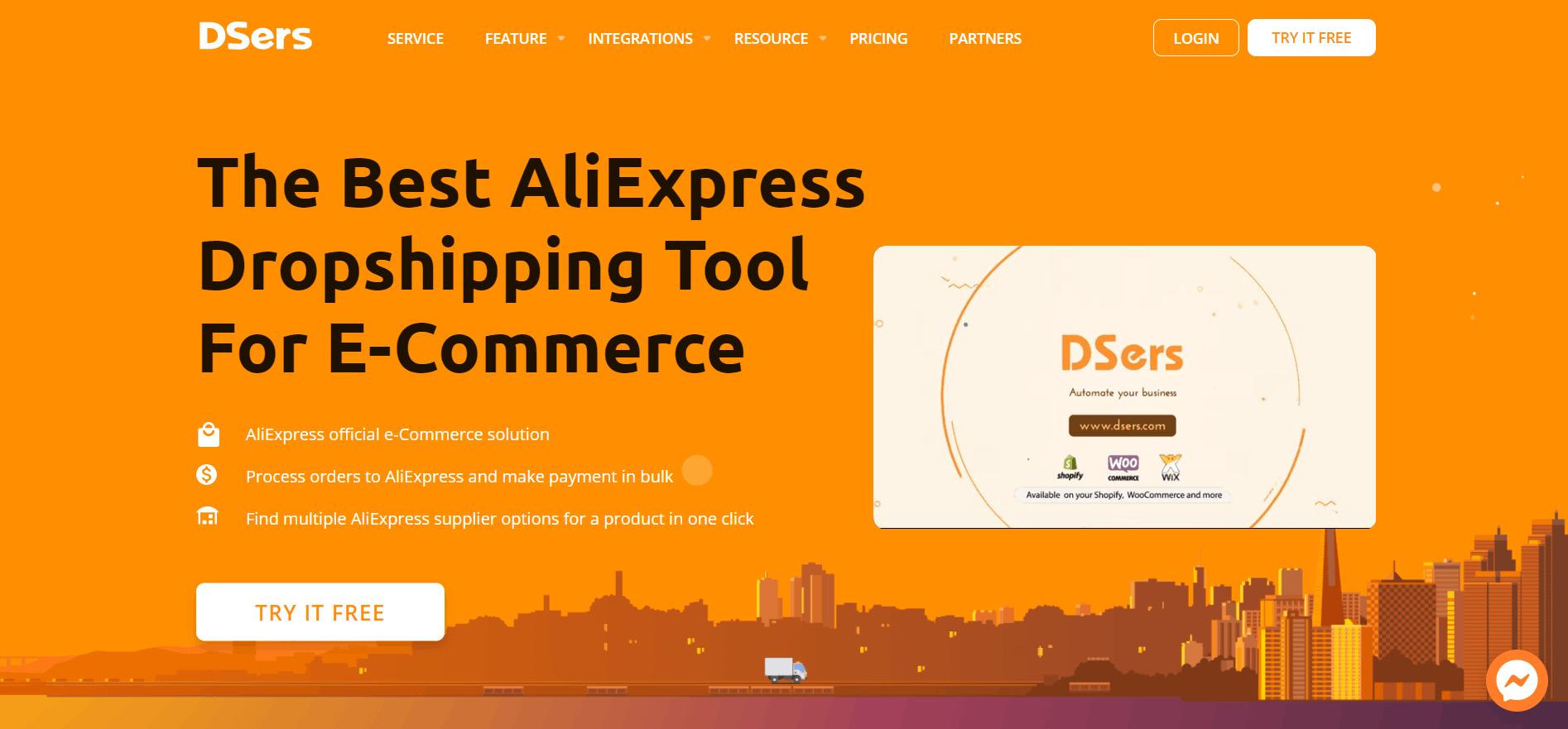 Desers homepage