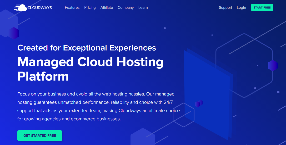 Cloudways cloud hosting free trial no credit card