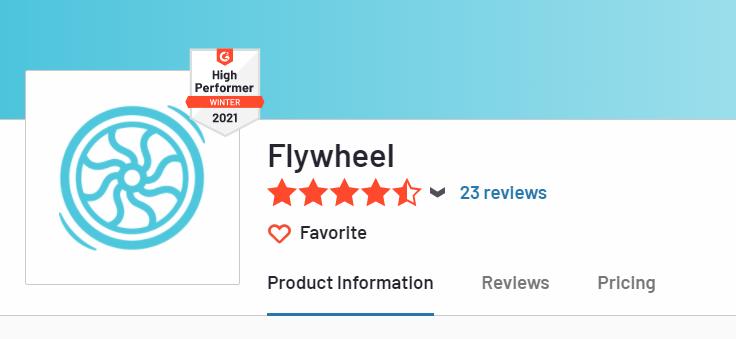 Flywheel excellent reviews