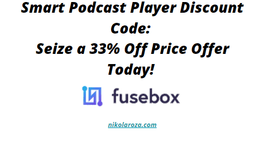 Smart Podcast Player Discount Code