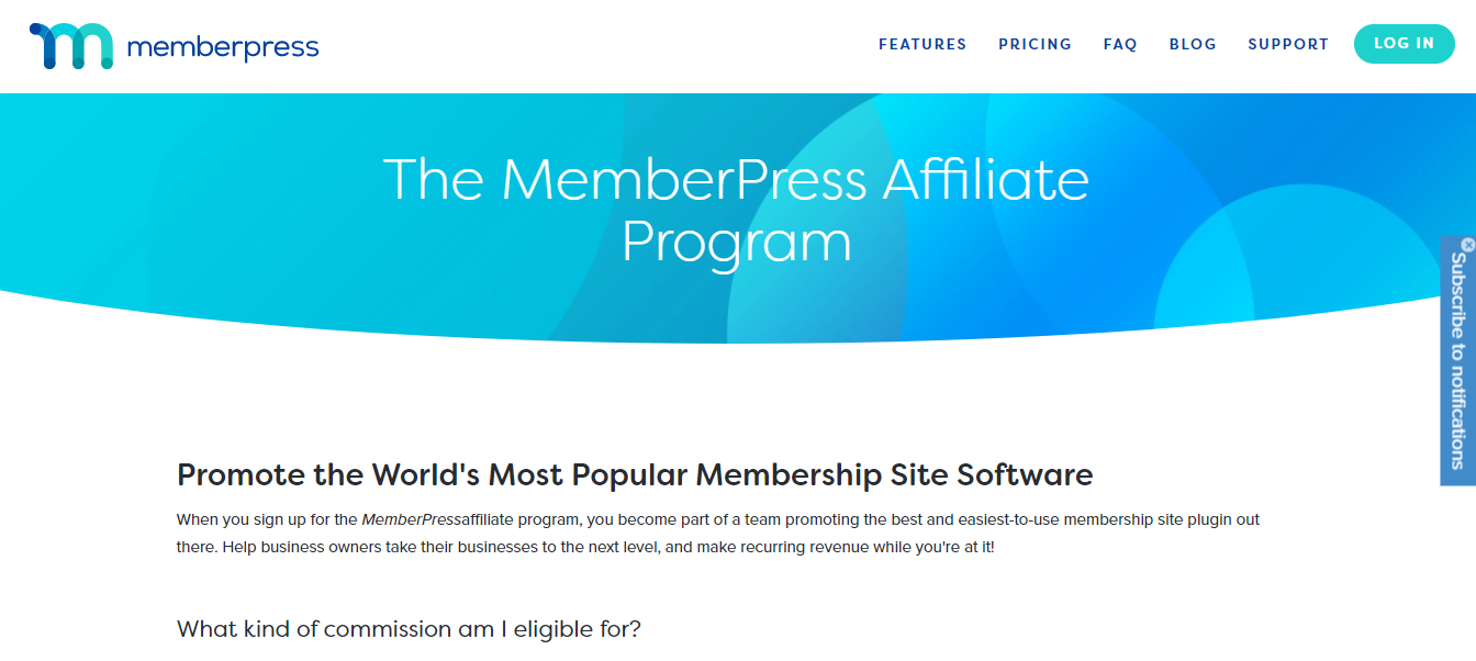 MemberPress affiliate program