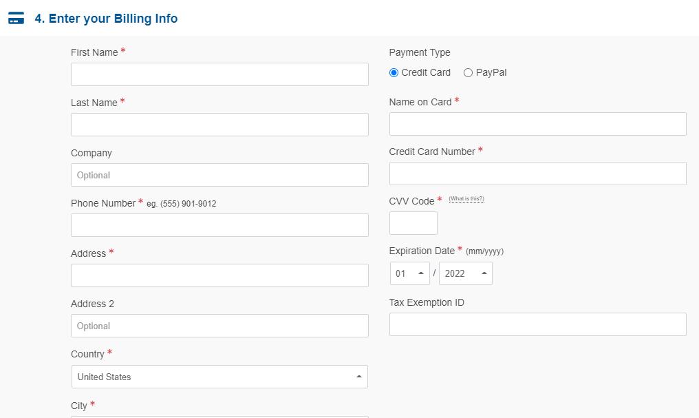 HostGator hosting payment options