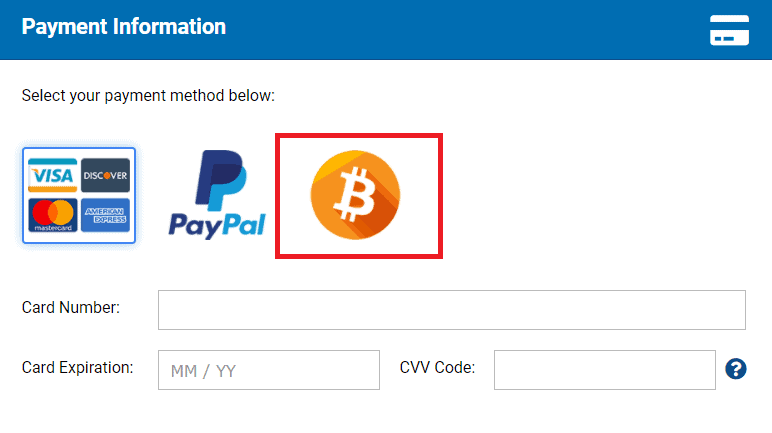 You can pay for Hostwinds services with bitcoin
