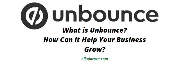 What is Unbounce?