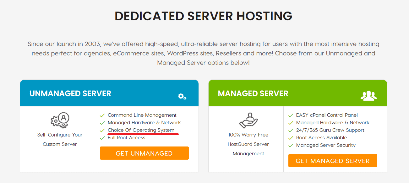 A2 hosting dedicated server free trial