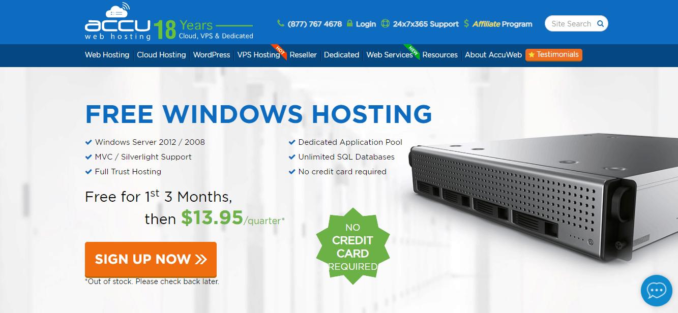 Accuweb free web hosting trial no credit card