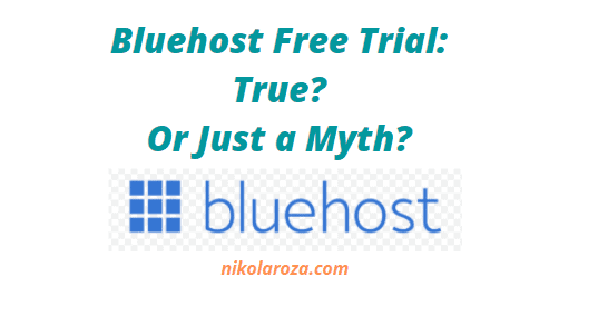 Bluehost free trial