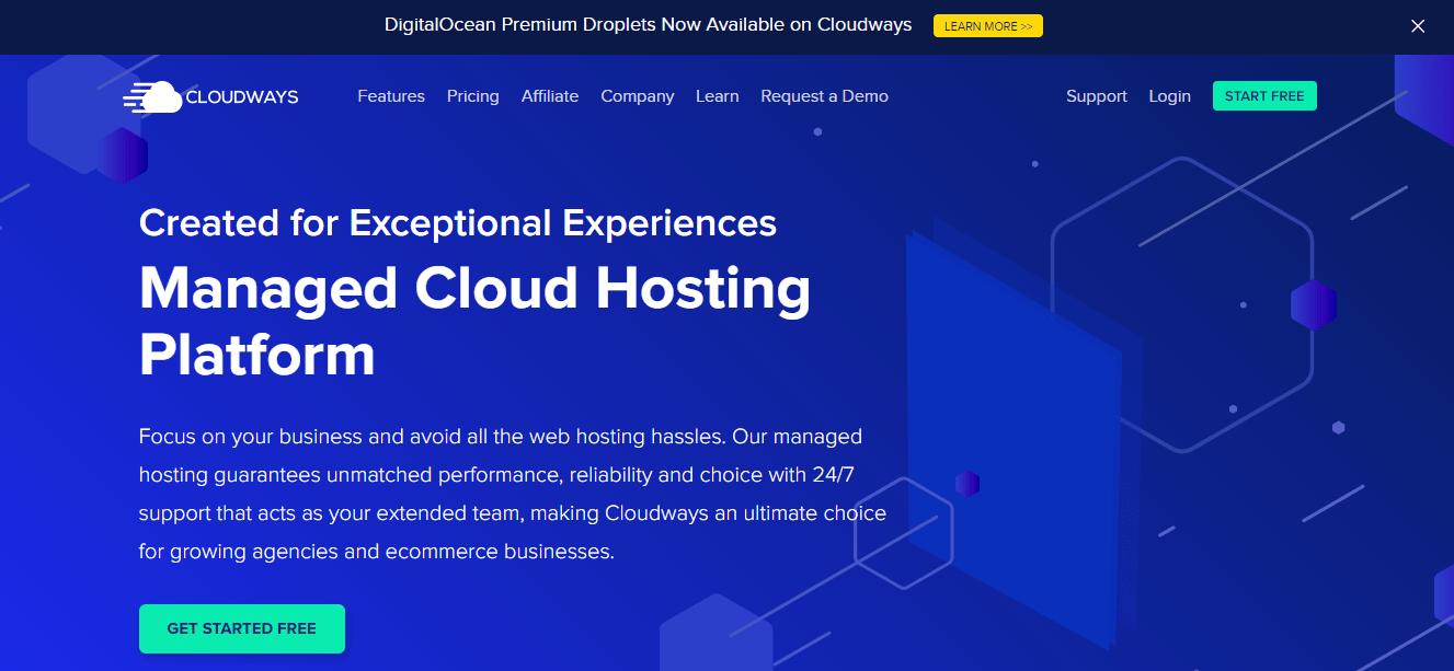 Cloudways start free trial