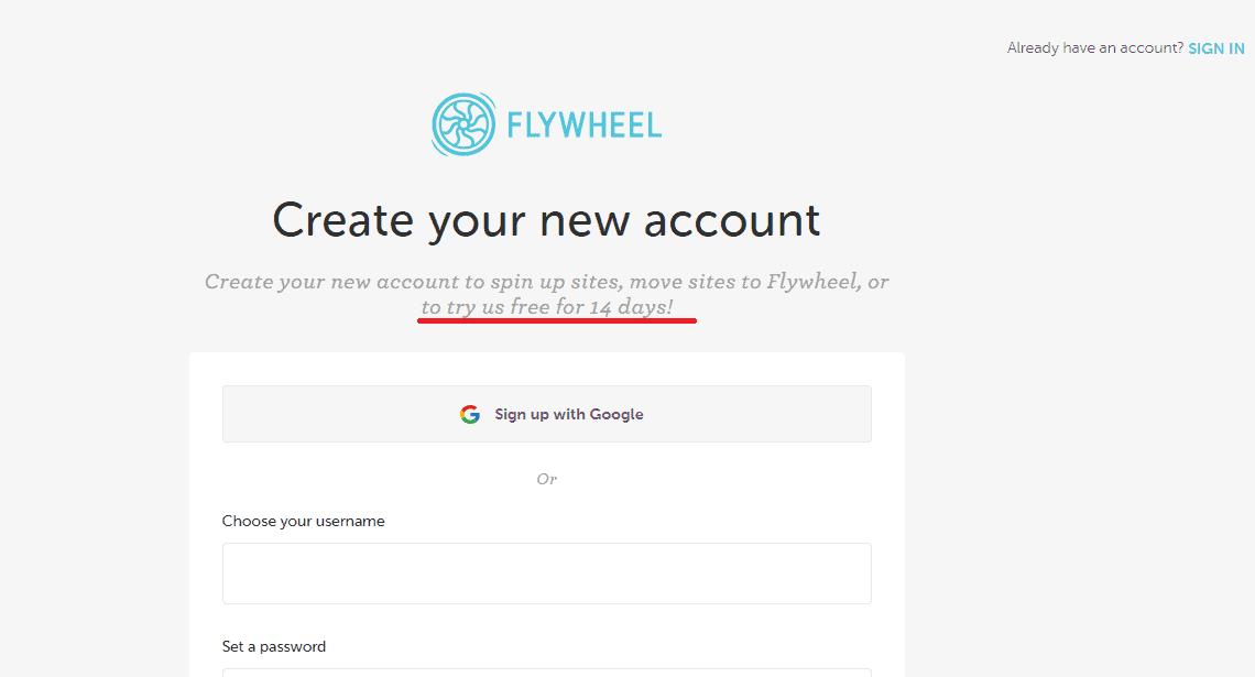 Unlock Flywheel 14 day free trial