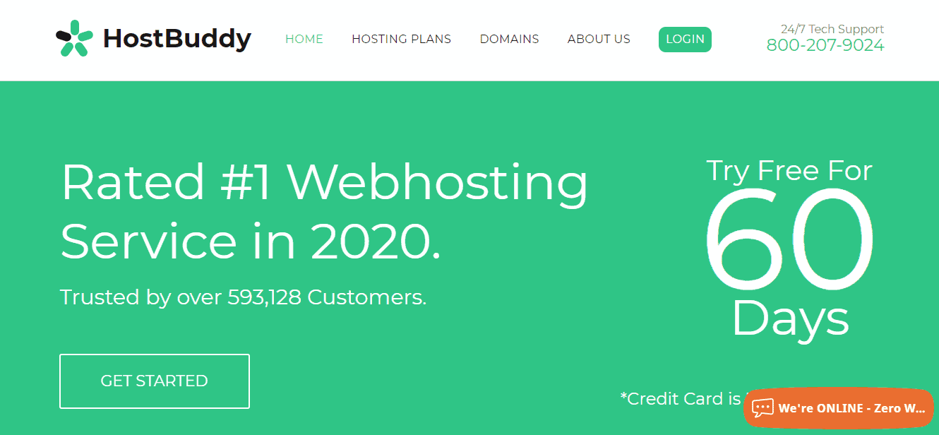 Hostbuddy Free 60 Day Trial Web Hosting (No Credit Card Required)