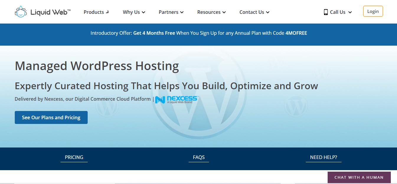 Liquid Web hosting free trial