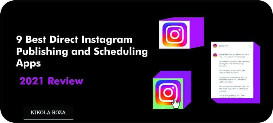 Best Instagram scheduling apps