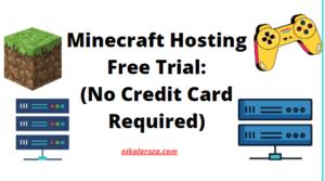 Minecraft server free trial hosting no credit card