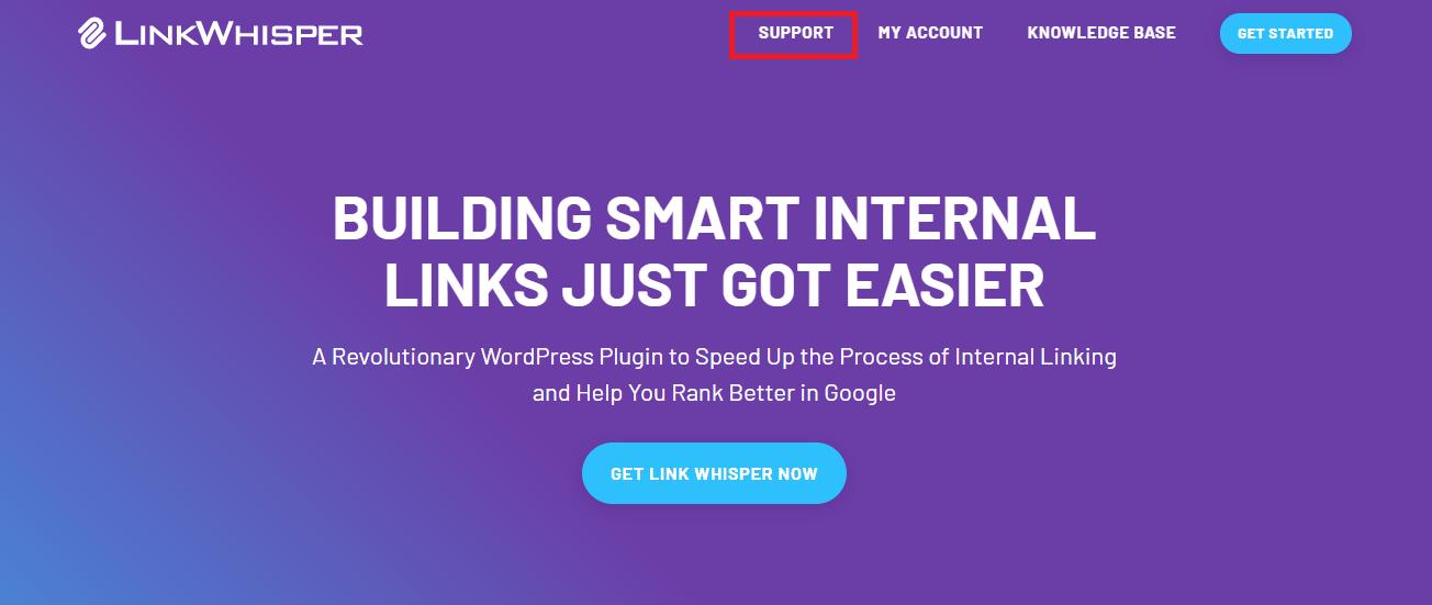 Link Whisper support
